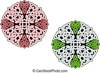 keltisch, verzierungen