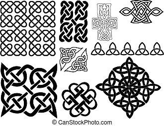 keltischer stil, elemente