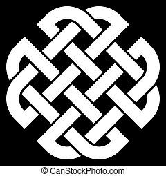 keltisk, quaternary, knyta