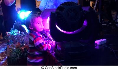 Child and stage projector