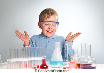 kemisk, experiment