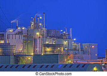 kemisk, fabrik