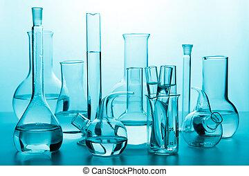 kemisk, glassware
