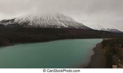 Kenai Lake Last Frontier Alaska Route 1 Emerald Color - An...