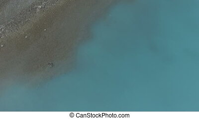 Kenai River Last Frontier Alaska Fly Fisherman Emerald Color...