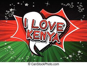 kenia, amore