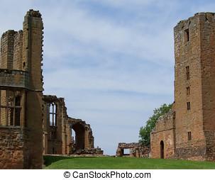 Kenilworth Castle - Kenilworth castle in Warwickshire,...