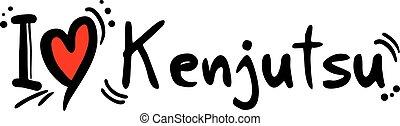 Kenjutsu love