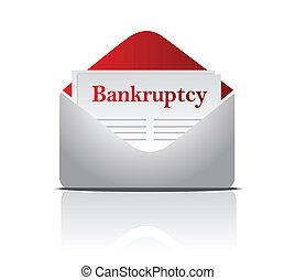 kennisgeving, faillissement