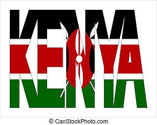 kenya, chevaucher, texte