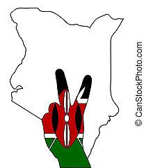 Kenya hand signal