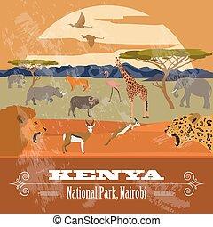 Kenya  infographics