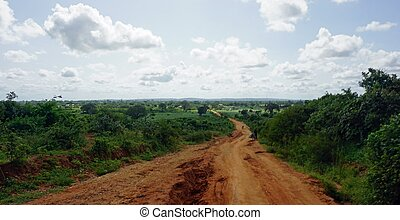 kenyan road construction