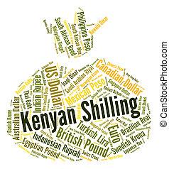 Kenyan Shilling Indicates Forex Trading And Foreign - Kenyan...