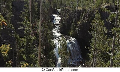 Kepler Cascades, Yellowstone National Park, United States