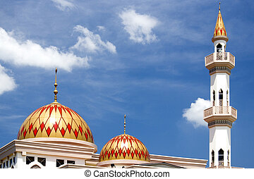 Kepong Mosque - Mosque at Kepong, Kuala Lumpur, Malaysia.