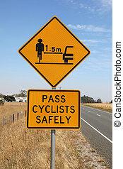 kerékpározás, biztonság