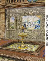 keramiek, fontijn, seville