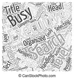 keres, fogalom, szó, emberek, végrehajtó, elfoglalt, felhő