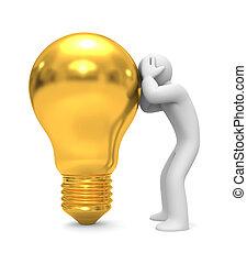keres, helyett, új, ideas., kép, feltartóztat, nyiradék út