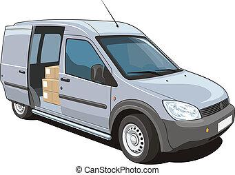 kereskedelmi, furgon