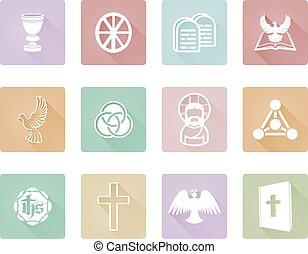 keresztény, ikonok