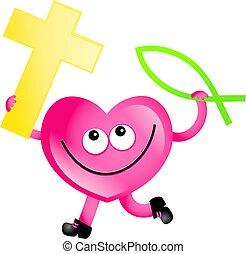 keresztény, szeret