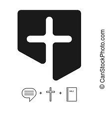 keresztény, templom, jel