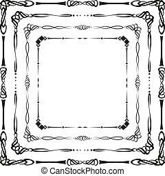 keret, calligraphic