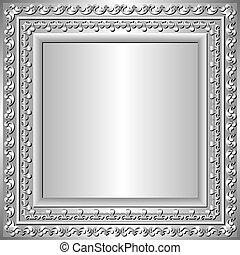 keret, ezüst