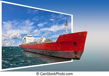 keret, hajó