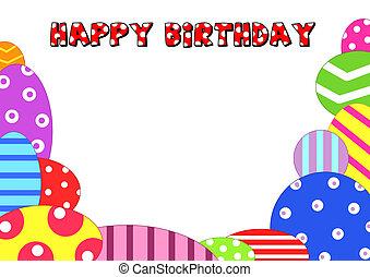 keret, közül, boldog születésnapot