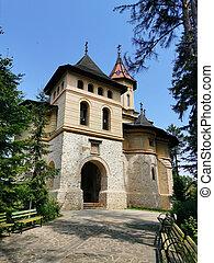 kerk, historisch, 17 eeuw