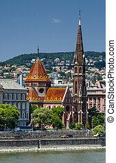 kerk, hongarije, boedapest, calvinist