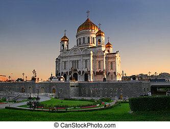 kerk, in, moskou