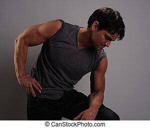 kerl, muskulös