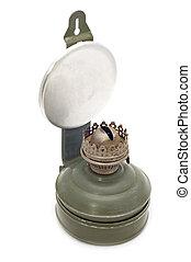 kerosine, witte , lamp