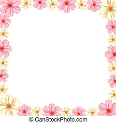 kers, frame, bloesems
