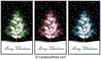 kerstboom, illustratie