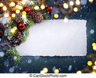 kerstboom, licht