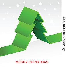 kerstboom, pixel, achtergrond, kerstmis