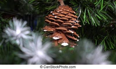 kerstboom, zom uit in