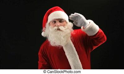 kerstman, dancing