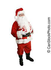 kerstman, volledig lichaam