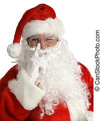 kerstman, wenken