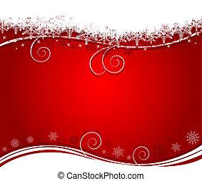 kerstmis, abstract, backgr