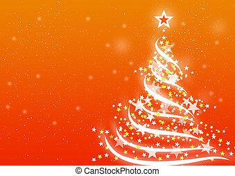 kerstmis, achtergrond, sinaasappel