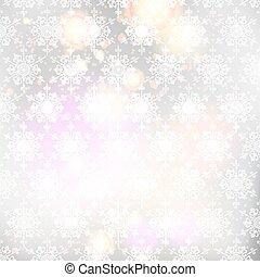 kerstmis, achtergrond, snowflakes