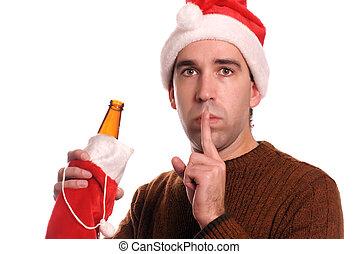 kerstmis, alcoholhoudend