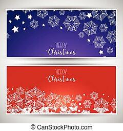 kerstmis, banieren, 0212